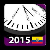 Calendario 2015 Ecuador