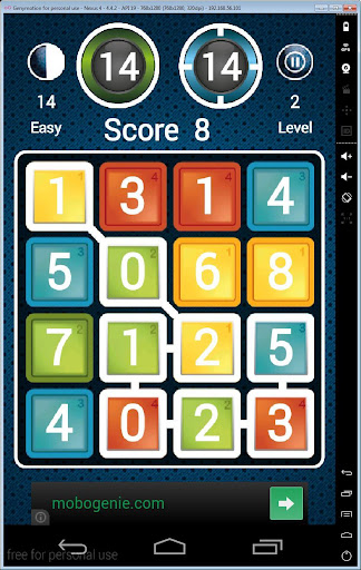 Numberline Puzzle Game