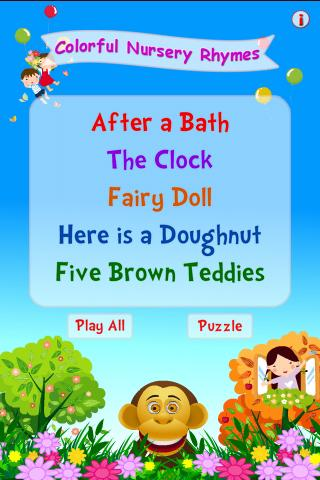 Colorful Nursery Rhymes