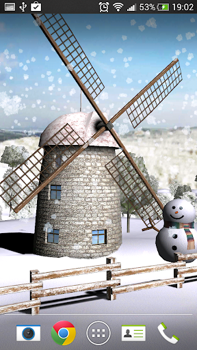 Beautiful Windmill LWP