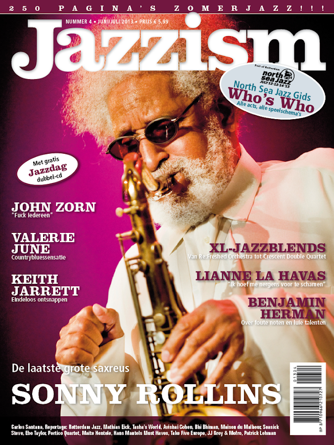 Jazzism Magazine- screenshot