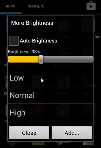 More Brightness