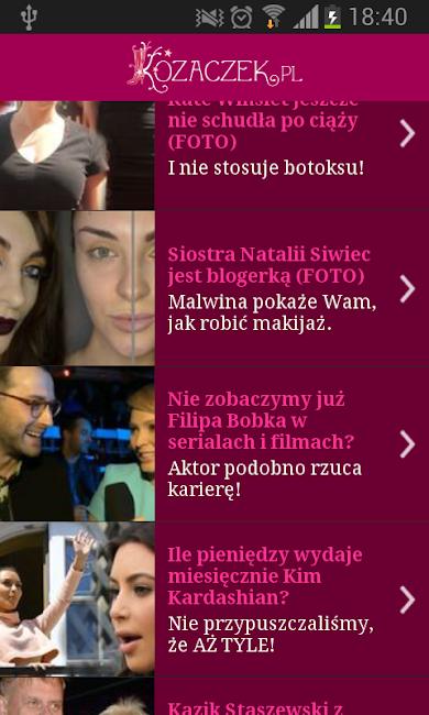 #1. Kozaczek.pl (Android)