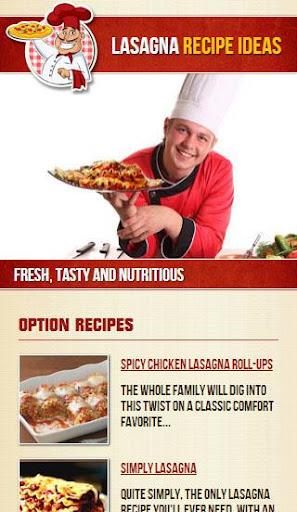 Lasagna Recipe Ideas