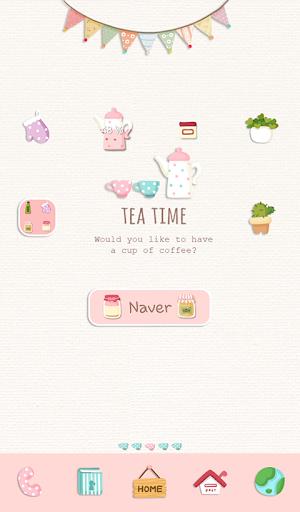 tea time 도돌런처 테마