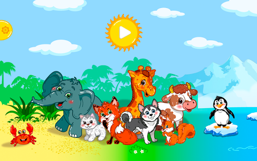 Animal puzzles Lite for kids