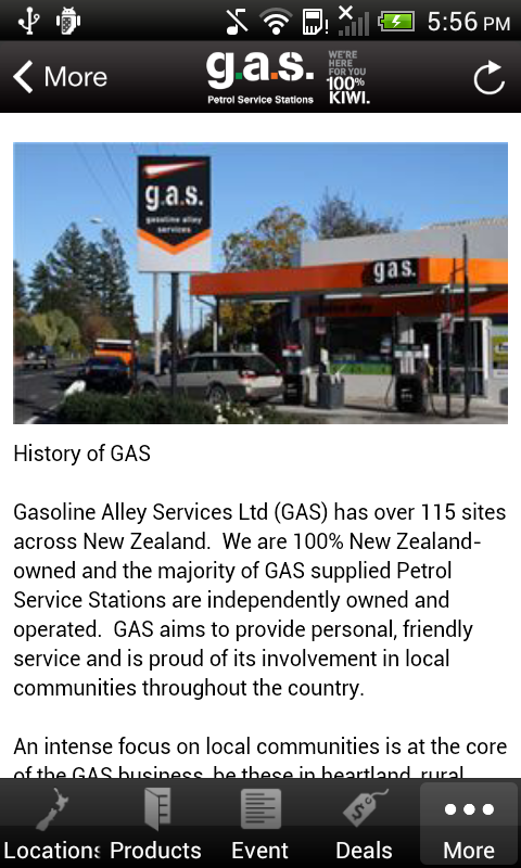 Gasoline Alley Services- screenshot