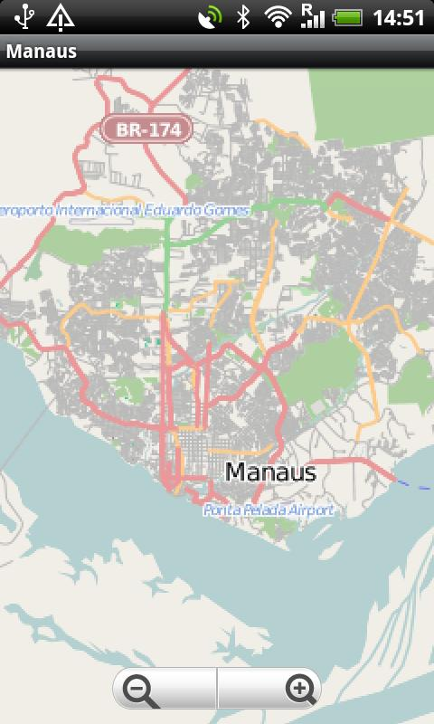 Manaus Street Map Android Apps On Google Play - Manaus map