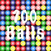 100個のボール(Same Game)
