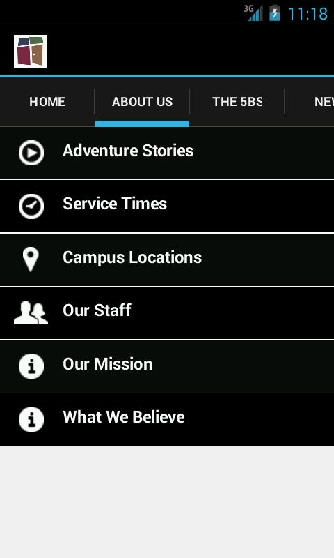 Church of the Open Door App - screenshot