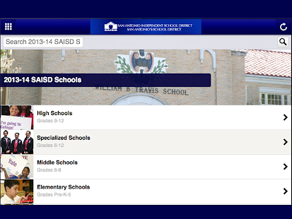 San Antonio ISD - screenshot thumbnail