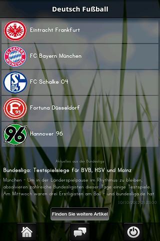 Deutsch Fußball