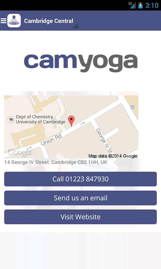 Camyoga- screenshot