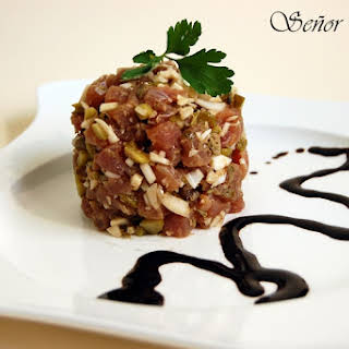 Red Tuna Tartare.