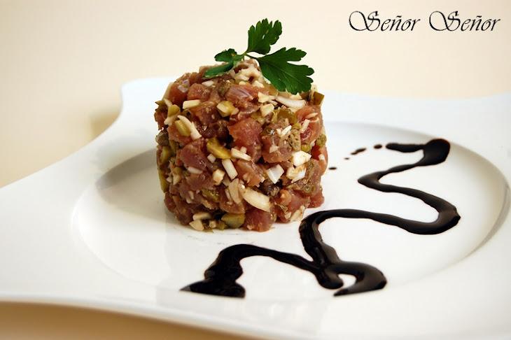 Red Tuna Tartare Recipe