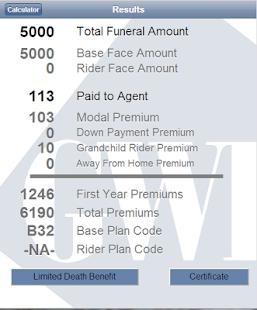 gwic iPremium Calculator - screenshot thumbnail