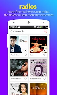 Gaana – Hindi Songs Online - screenshot thumbnail
