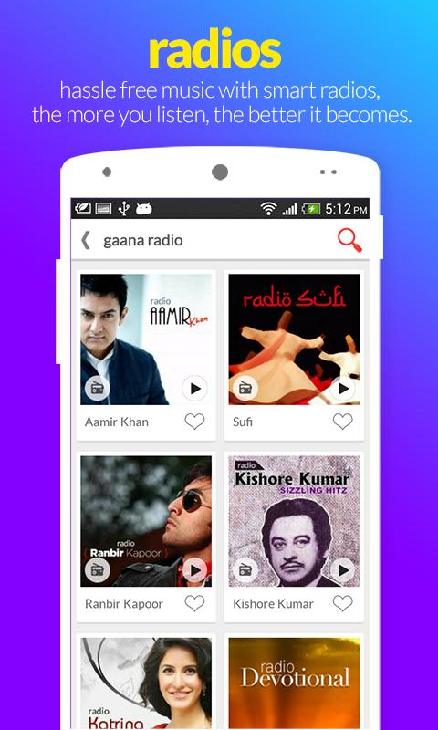 Gaana – Hindi Songs Online - screenshot