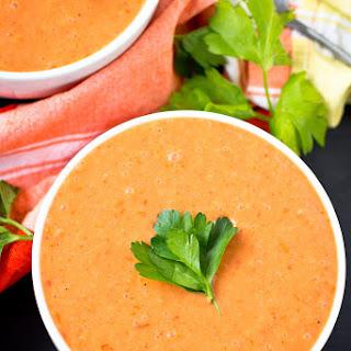 Vegan Cream of Tomato Soup