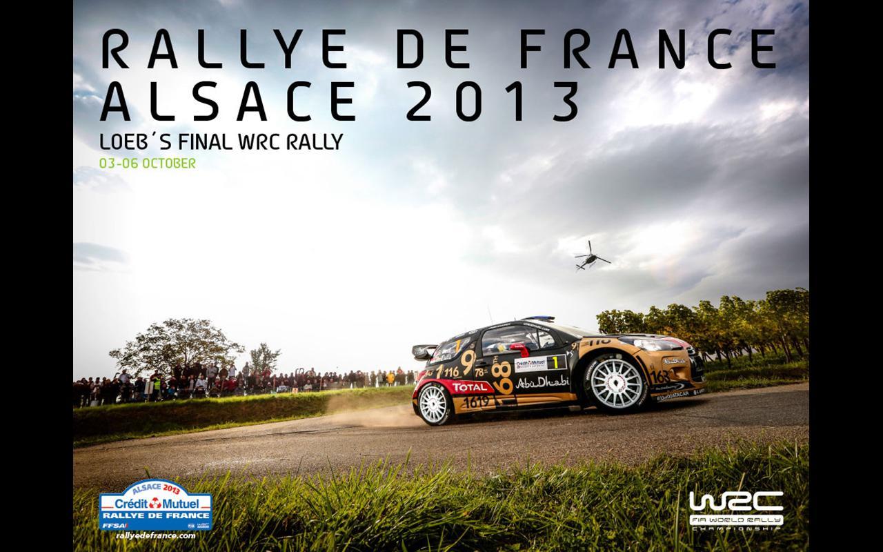 WRC Rallye de France 2013 - screenshot