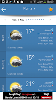 Screenshot of 3B Meteo - Weather Forecasts