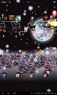 Christmas Live Wallpaper Santa- screenshot thumbnail