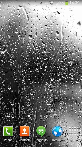 Raindrops Live Wallpaper HD 8 screenshot