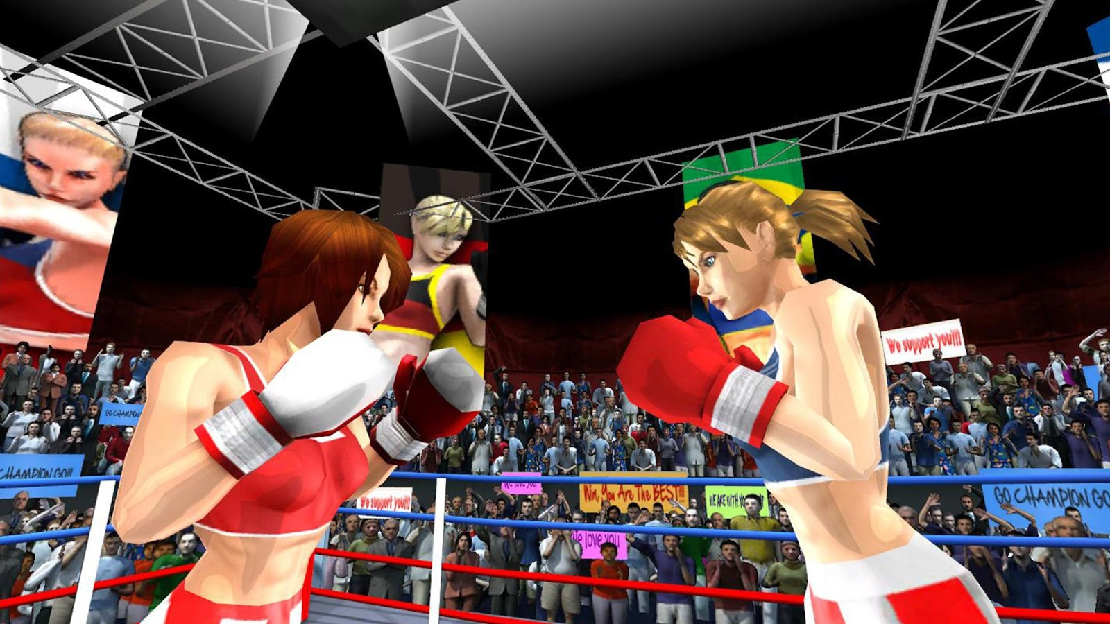 Woman Fists For Fighting WFx3- screenshot