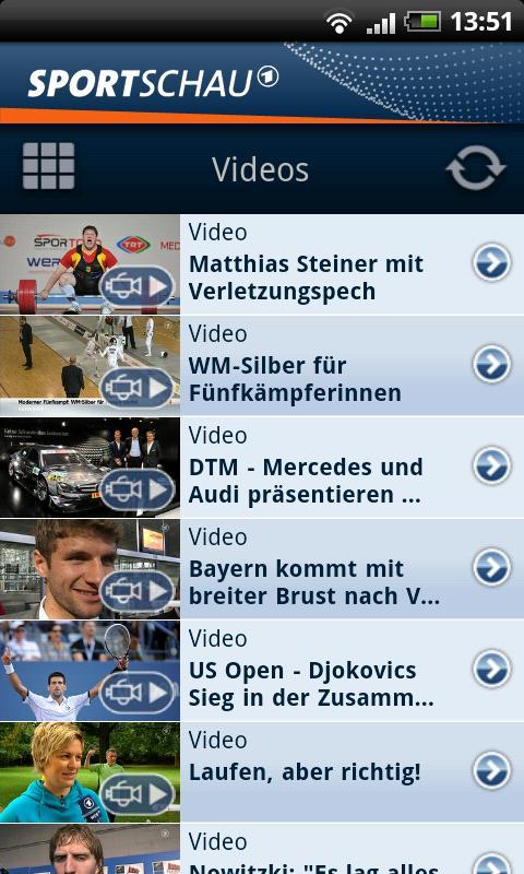 SPORTSCHAU - screenshot