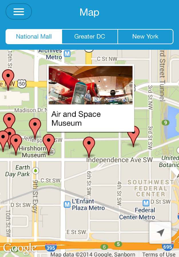 Smithsonian Mobile - screenshot