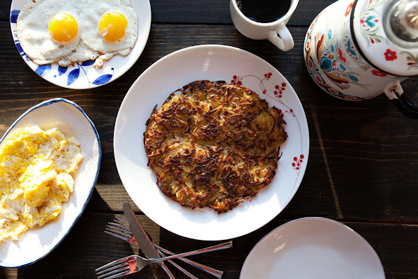 Salt and vinegar hash browns to sweeten your day.