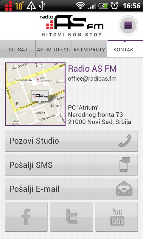 Radio AS FM- screenshot