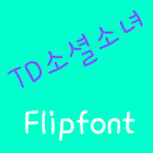 TDSocialgirl Korean Flipfont icon