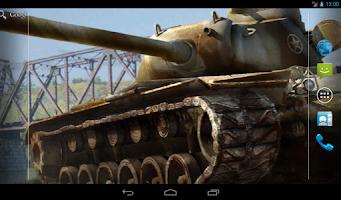 Screenshot of WoT Live wallpaper (T110E5)