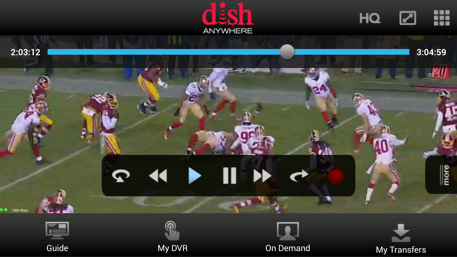 DISH Anywhere - screenshot
