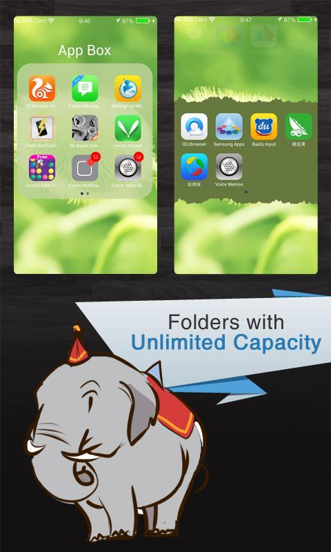 Espier Launcher 7 Pro - screenshot
