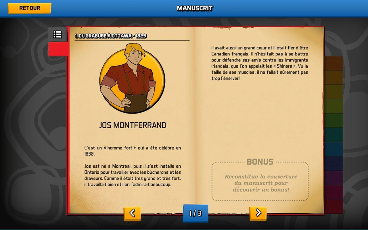 Sur la piste des Jumelles - screenshot