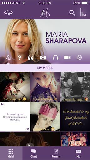 Maria Sharapova Official App