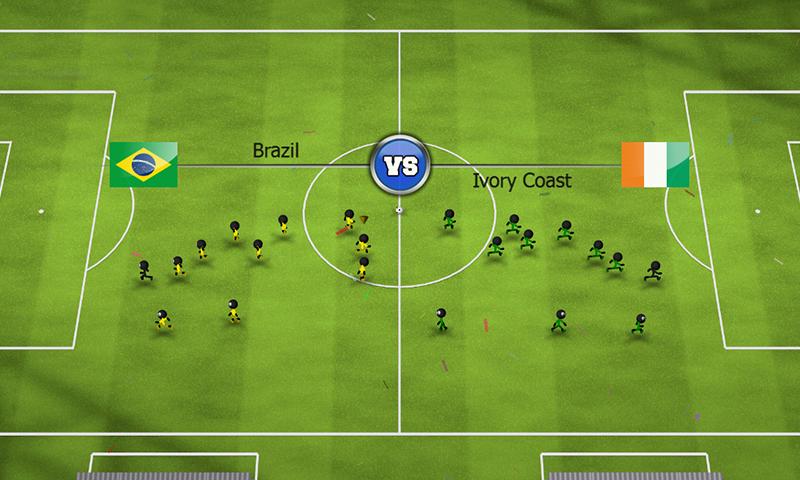 Stickman Soccer 2014 screenshot #3