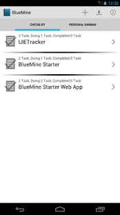 BlueMine Starter- screenshot thumbnail