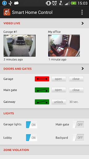家庭自動化遠程控制 - 免費的!