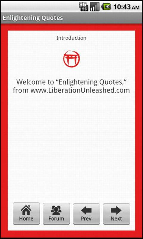 Enlightening Quotes- screenshot
