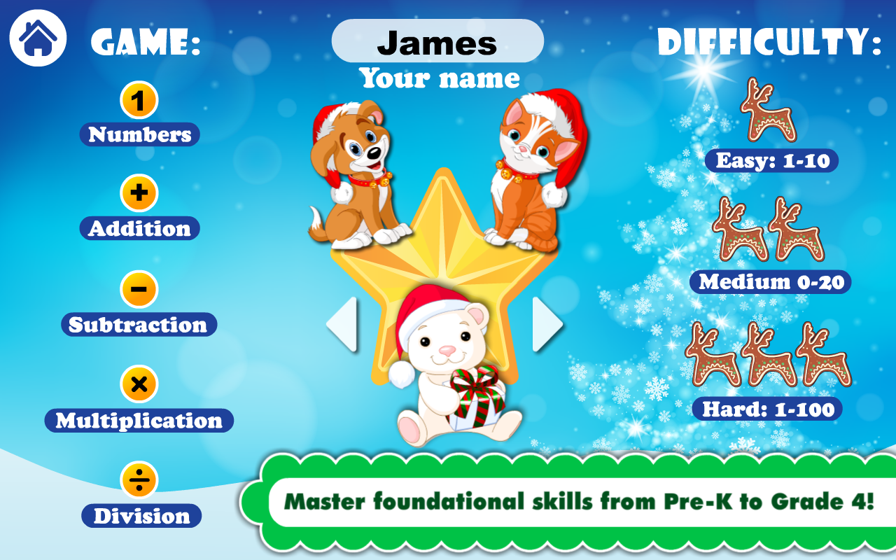 Surprising Math Games For Pre K Grade 4 Android Apps On Google Play Easy Diy Christmas Decorations Tissureus