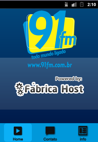 Rádio 91 FM Leme- screenshot