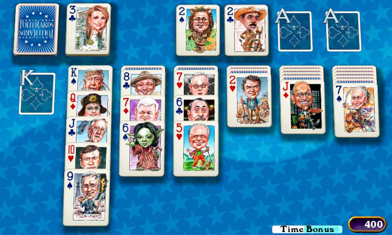 PolitiCards Solitaire- screenshot