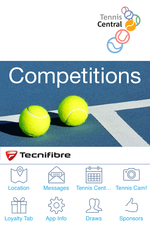 Tennis Central Competitions- screenshot