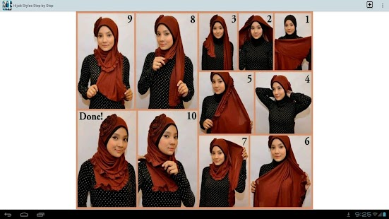 Hijab Styles Step By Step Android Apps On Google Play