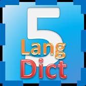Kamus Lima Bahasa