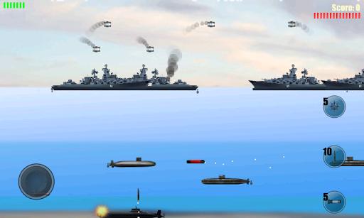 潜水艦の攻撃