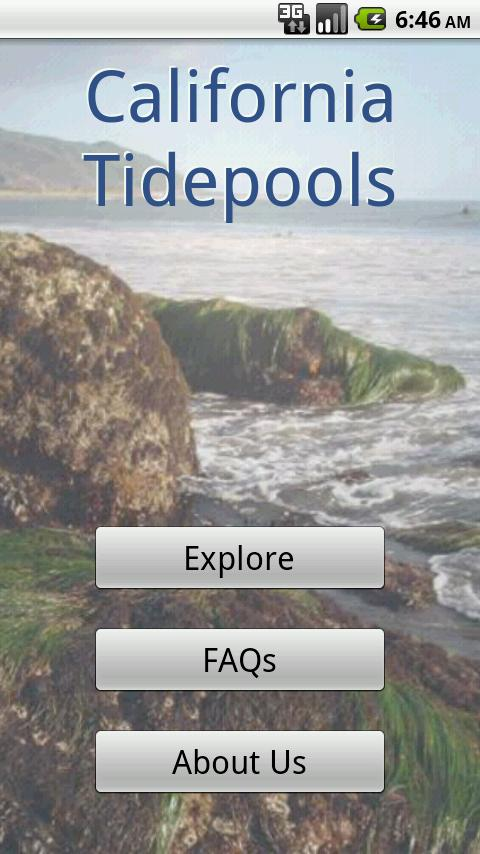 California Tidepools - screenshot
